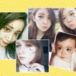 顔にタトゥーみたいなPONY風メイクのアプリ『MakeupPlus』が人気